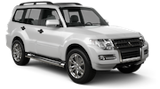 THAI Car rental Bangkok - City Centre Suv car - Mitsubishi Pajero