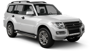 THAI Car rental Udon Thani - Airport Suv car - Mitsubishi Pajero