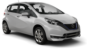 THAI Car rental Udon Thani - Airport Economy car - Nissan Almera