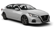 ALAMO Car rental Sacramento Int'l Airport Standard car - Nissan Altima