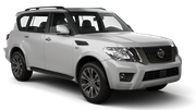 HERTZ Car rental Detroit - Airport Suv car - Nissan Armada