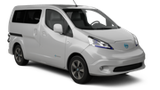 EUROPCAR Car rental Paphos City Van car - Nissan NV200