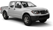 THRIFTY Car rental Panama City - Hotel La Cresta Inn Suv car - Nissan Frontier