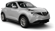 ALAMO Car rental Luxembourg Railway Station Suv car - Nissan Juke