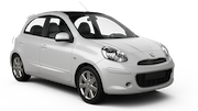 SMART RENT A CAR Car rental Palm Beach - Riu Palace Economy car - Nissan March