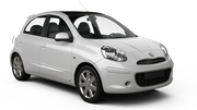 SMART RENT A CAR Car rental Aruba - Oranjestad Economy car - Nissan March