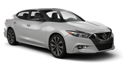 ALAMO Car rental Sacramento Int'l Airport Luxury car - Nissan Maxima
