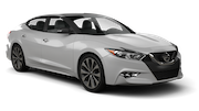 ALAMO Car rental Orange County - John Wayne Apt Luxury car - Nissan Maxima