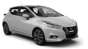 DOLLAR Car rental Dubai - Intl Airport Mini car - Nissan Micra