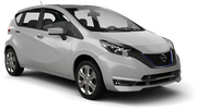 ALAMO Car rental Podgorica Airport Economy car - Nissan Note