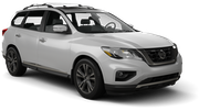 DOLLAR Car rental Pittsburgh International Airport Suv car - Nissan Pathfinder