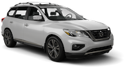 HERTZ Car rental Montreal - Cote-des-neiges Suv car - Nissan Pathfinder