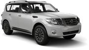 THRIFTY Car rental Abu Dhabi - Downtown Suv car - Nissan Patrol