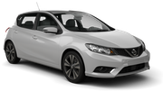 AVIS Car rental Kerry - Airport Compact car - Nissan Pulsar