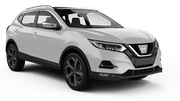 ALAMO Car rental Luxembourg Railway Station Suv car - Nissan Qashqai