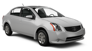 NU Car rental Calgary - Airport Compact car - Nissan Sentra