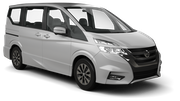 HERTZ Car rental Lesvos - Airport - Mytilene International Van car - Nissan Evalia