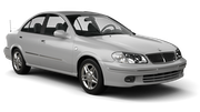 THRIFTY Car rental Dubai - Mercato Shoping Mall Economy car - Nissan Sunny