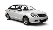 NATIONAL Car rental Don Mueang - Airport Standard car - Nissan Sylphy