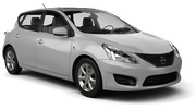 FLIZZR Car rental Limassol City Compact car - Nissan Tiida