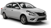 HERTZ Car rental Fairfield Compact car - Nissan Versa