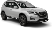 EUROPCAR Car rental Odessa Airport Suv car - Nissan X-Trail