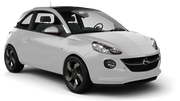 BUDGET Car rental Brussels - Train Station Mini car - Opel Adam