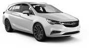 EUROPCAR Car rental Southampton Standard car - Opel Astra Estate