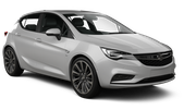 HERTZ Car rental Luxembourg Railway Station Compact car - Opel Astra