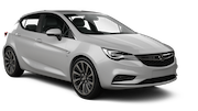 EUROPCAR Car rental Paphos City Compact car - Opel Astra