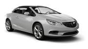 HERTZ Car rental Nis Airport Convertible car - Opel Cascada