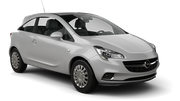 THRIFTY Car rental Luxembourg Railway Station Economy car - Opel Corsa