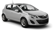 BUDGET Car rental Abu Dhabi - Downtown Economy car - Opel Corsa