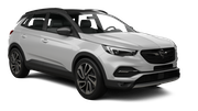SIXT Car rental Brussels - Train Station Suv car - Opel Grandland X