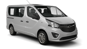HERTZ Car rental Podgorica Airport Van car - Opel Vivaro