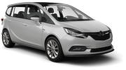 WHIZ Car rental Larnaca - Airport Van car - Opel Zafira