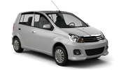 MERGE CAR RENTAL Car rental Penang - International Airport Mini car - Perodua Viva