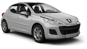 AVIS Car rental Huddersfield Mini car - Peugeot 107