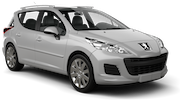 GREEN MOTION Car rental Gzira Standard car - Peugeot 207 Estate