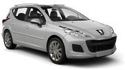 GREEN MOTION Car rental Cirkewwa - Downtown Standard car - Peugeot 207 Estate