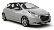 FIRST Car rental Cirkewwa - Downtown Compact car - Peugeot 208