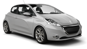 BUDGET Car rental Porto - Airport Economy car - Peugeot 208