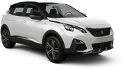 SIXT Car rental Luton Suv car - Peugeot 3008