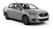 DOLLAR Car rental Tel Aviv - Airport Ben Gurion Fullsize car - Peugeot 301