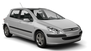 PREPAID Car rental Casablanca - Airport Compact car - Peugeot 307