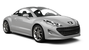 HERTZ Car rental Paphos City Convertible car - Peugeot 308 Convertible