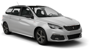 ENTERPRISE Car rental Luxembourg Railway Station Standard car - Peugeot 308 Estate