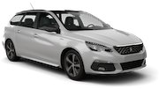 SURPRICE Car rental Cirkewwa - Downtown Standard car - Peugeot 308 Estate