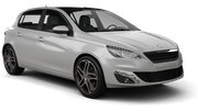 BUDGET Car rental Lincoln Compact car - Peugeot 308