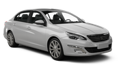 PREPAID Car rental Casablanca - Airport Standard car - Peugeot 408